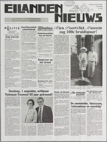 Eilanden-nieuws. Christelijk streekblad op gereformeerde grondslag 2000-08-01