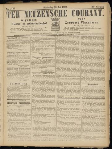 Ter Neuzensche Courant. Algemeen Nieuws- en Advertentieblad voor Zeeuwsch-Vlaanderen / Neuzensche Courant ... (idem) / (Algemeen) nieuws en advertentieblad voor Zeeuwsch-Vlaanderen 1899-07-20