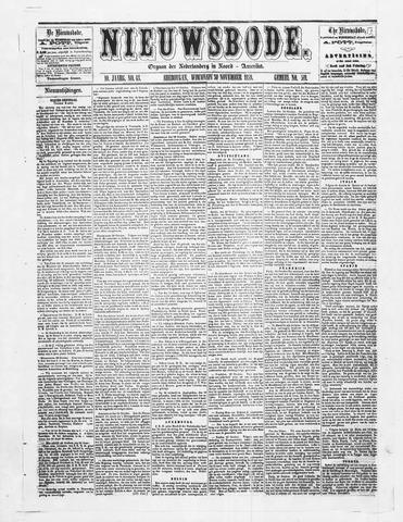 Sheboygan Nieuwsbode 1859-11-30