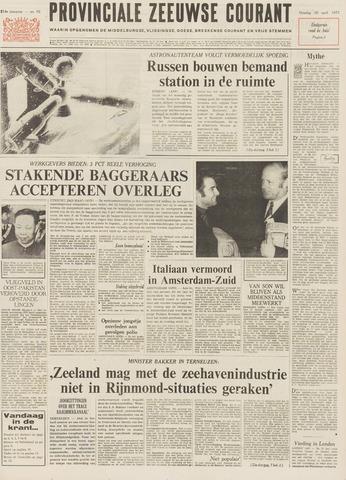 Provinciale Zeeuwse Courant 1971-04-20