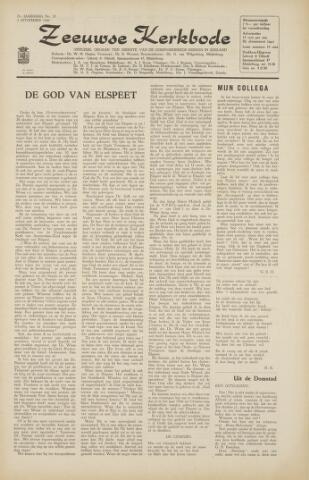 Zeeuwsche kerkbode, weekblad gewijd aan de belangen der gereformeerde kerken/ Zeeuwsch kerkblad 1966-10-28