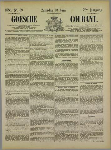 Goessche Courant 1885-06-13