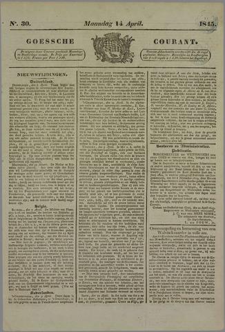 Goessche Courant 1845-04-14