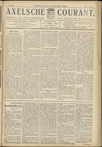 Axelsche Courant 1938-11-22
