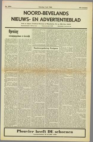Noord-Bevelands Nieuws- en advertentieblad 1960-07-02