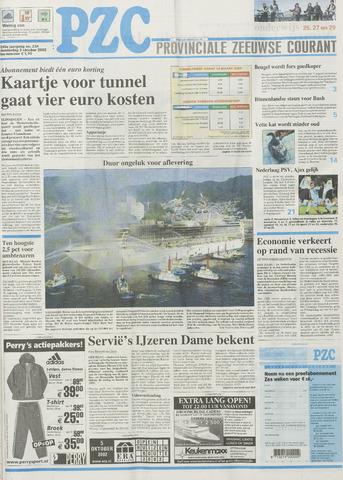 Provinciale Zeeuwse Courant 2002-10-03