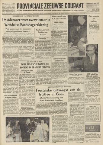 Provinciale Zeeuwse Courant 1957-09-16
