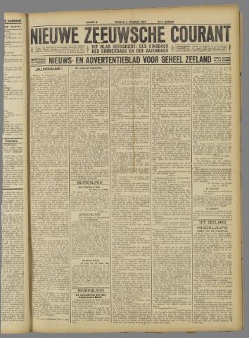 Nieuwe Zeeuwsche Courant 1925-02-03