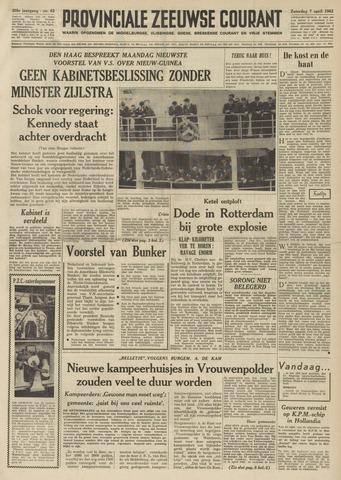 Provinciale Zeeuwse Courant 1962-04-07