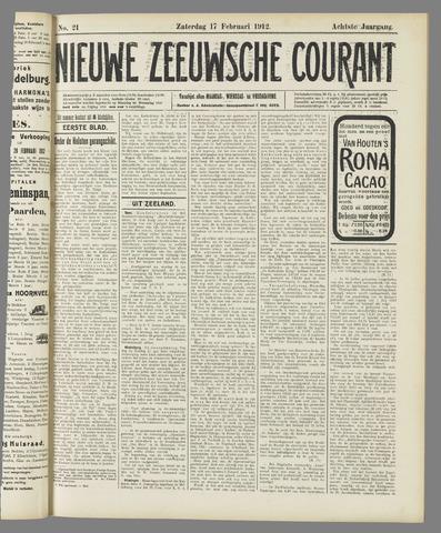 Nieuwe Zeeuwsche Courant 1912-02-17