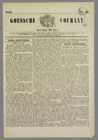 Goessche Courant 1852-05-24