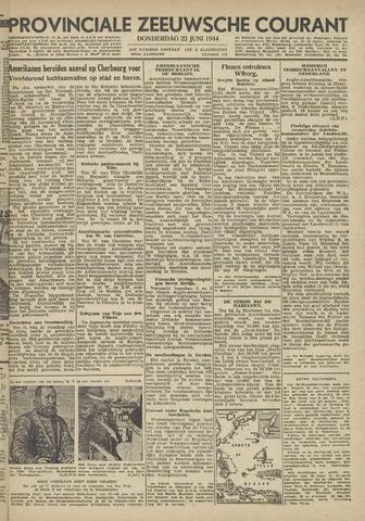 Provinciale Zeeuwse Courant 1944-06-22