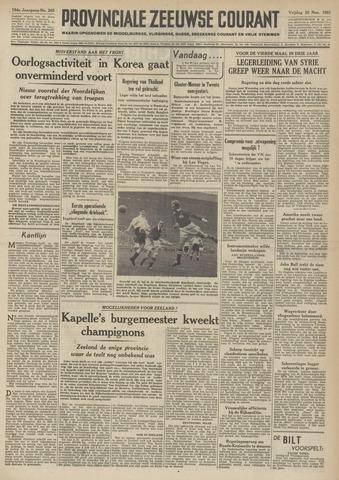 Provinciale Zeeuwse Courant 1951-11-30