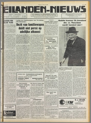 Eilanden-nieuws. Christelijk streekblad op gereformeerde grondslag 1975-02-21