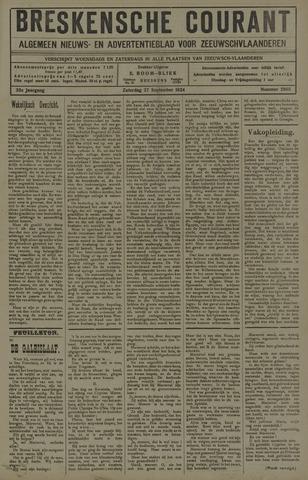 Breskensche Courant 1924-09-27