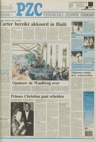 Provinciale Zeeuwse Courant 1994-09-19