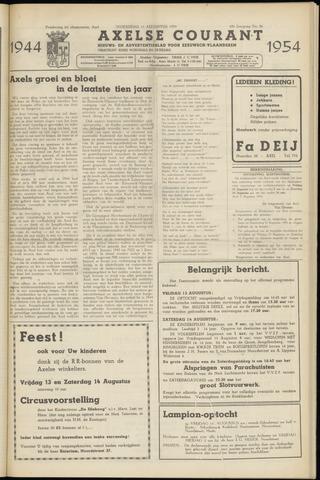 Axelsche Courant 1954-08-11