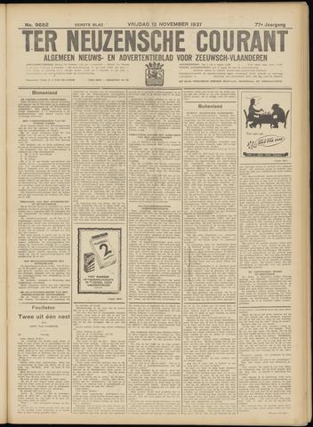 Ter Neuzensche Courant. Algemeen Nieuws- en Advertentieblad voor Zeeuwsch-Vlaanderen / Neuzensche Courant ... (idem) / (Algemeen) nieuws en advertentieblad voor Zeeuwsch-Vlaanderen 1937-11-12