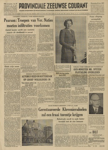 Provinciale Zeeuwse Courant 1957-01-30