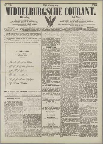 Middelburgsche Courant 1895-05-14