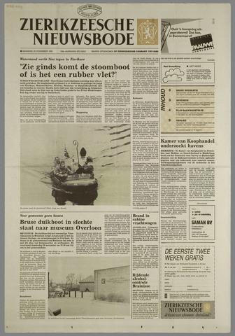Zierikzeesche Nieuwsbode 1991-11-25
