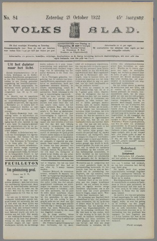 Volksblad 1922-10-21