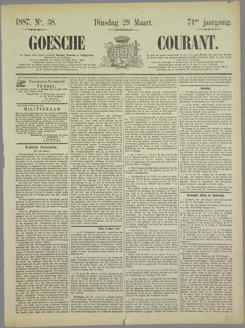Goessche Courant 1887-03-29
