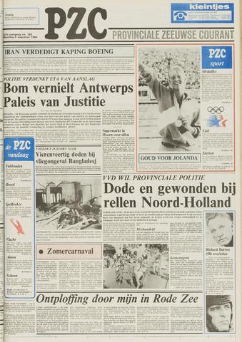 Provinciale Zeeuwse Courant 1984-08-06