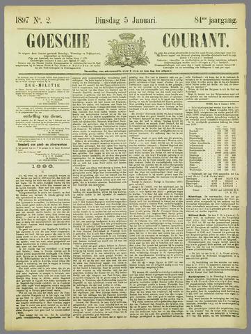 Goessche Courant 1897-01-05