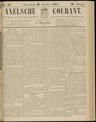 Axelsche Courant 1904-10-26