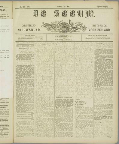 De Zeeuw. Christelijk-historisch nieuwsblad voor Zeeland 1895-07-13