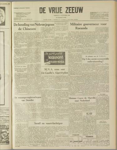 de Vrije Zeeuw 1959-11-13