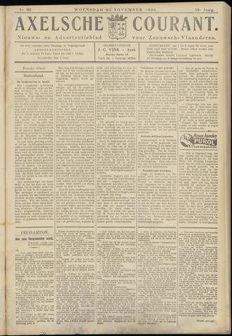 Axelsche Courant 1936-11-25