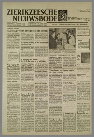 Zierikzeesche Nieuwsbode 1963-04-08