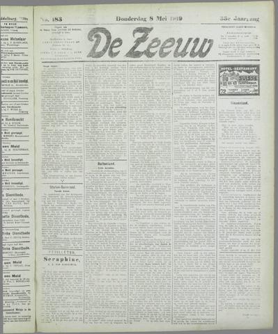 De Zeeuw. Christelijk-historisch nieuwsblad voor Zeeland 1919-05-08