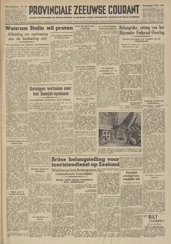 Provinciale Zeeuwse Courant 1949-02-02