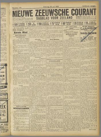 Nieuwe Zeeuwsche Courant 1922-07-29