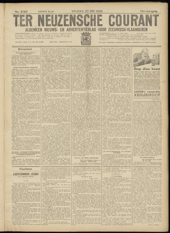Ter Neuzensche Courant. Algemeen Nieuws- en Advertentieblad voor Zeeuwsch-Vlaanderen / Neuzensche Courant ... (idem) / (Algemeen) nieuws en advertentieblad voor Zeeuwsch-Vlaanderen 1938-05-20