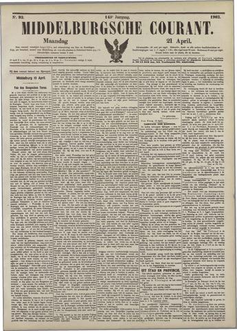 Middelburgsche Courant 1902-04-21