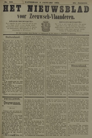 Nieuwsblad voor Zeeuwsch-Vlaanderen 1901-01-05