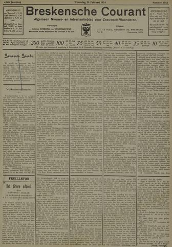 Breskensche Courant 1934-02-28