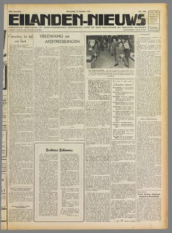 Eilanden-nieuws. Christelijk streekblad op gereformeerde grondslag 1949-10-12