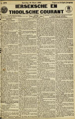 Ierseksche en Thoolsche Courant 1923-03-10