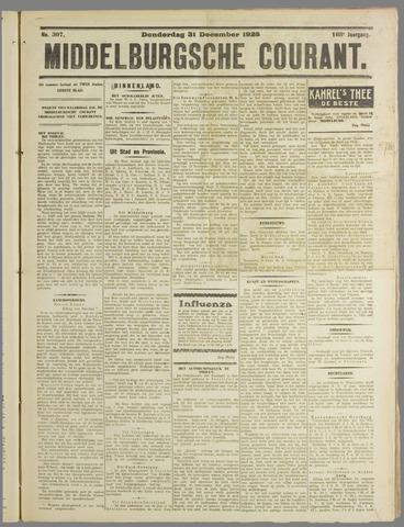 Middelburgsche Courant 1925-12-31