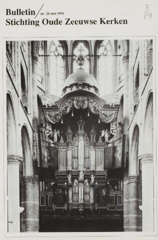 Bulletin Stichting Oude Zeeuwse kerken 1991