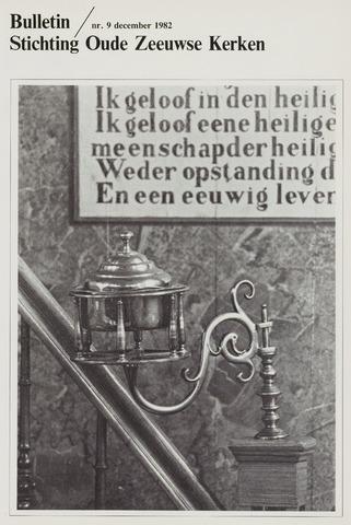 Bulletin Stichting Oude Zeeuwse kerken 1982-12-01