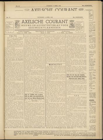 Axelsche Courant 1945-04-14