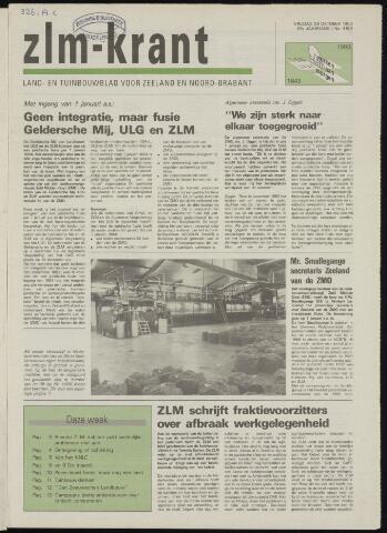 Zeeuwsch landbouwblad ... ZLM land- en tuinbouwblad 1993-10-29