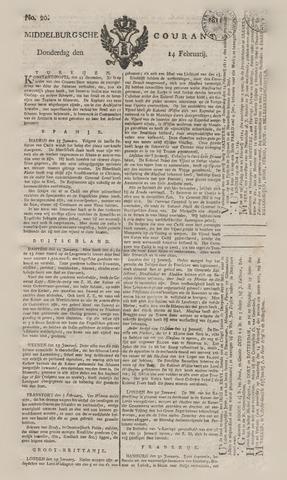 Middelburgsche Courant 1811-02-14