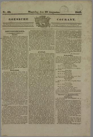 Goessche Courant 1842-08-29
